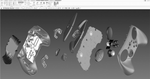 CAD files of the SteamController